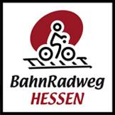Bahnradweg Hessen Logo